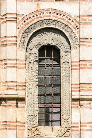 church window: Old Orthodox Church Window