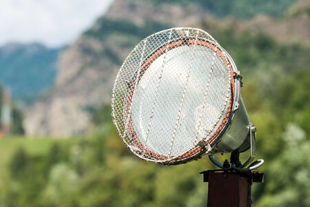 reflector: Light Reflector On Nature Background