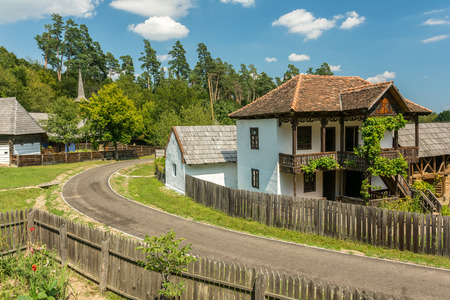 astra: SIBIU, ROMANIA - AUGUST 19, 2014: Astra National Museum Complex is a museum complex which gathers four ethnology and civilisation museums in the city and laboratories for conservation and research.