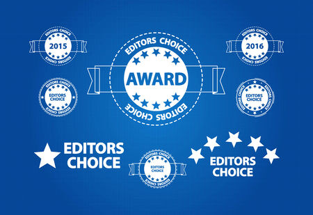 editors: Editors Choice Quality Product Award Blueprint Icons