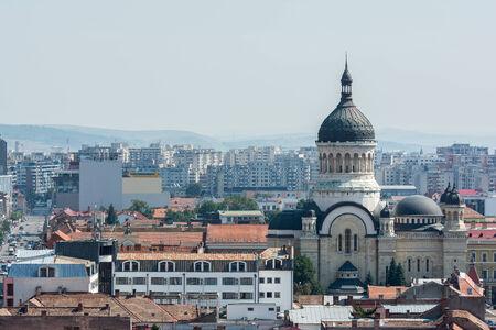 napoca: High View Of Cluj Napoca City In Romania