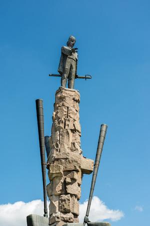 napoca: Statue Of Avram Iancu In Cluj Napoca, Romania.
