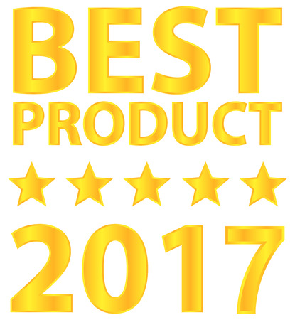 Best Product Five Star Award 2017 Vector
