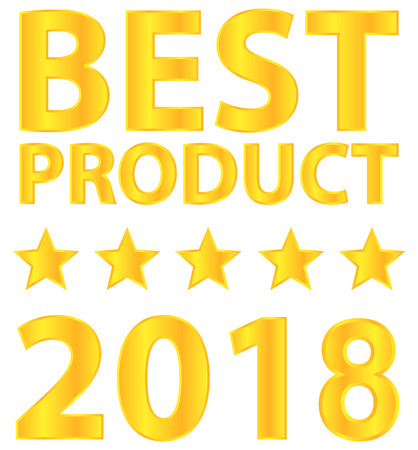 Best Product Five Star Award 2018 Vector