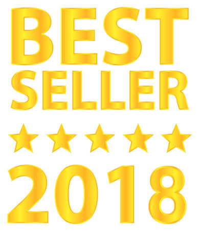 Best Seller Five Star Award 2018 Vector