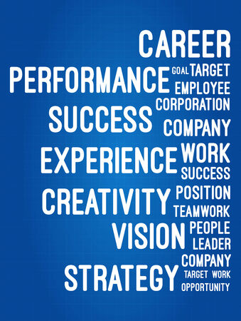 Business and career word cloud pyramid on blueprint royalty free 35119268 business and career word cloud on blueprint malvernweather Image collections