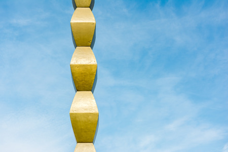 constantin: The Endless Column (Column of Infinite) made by Constantin Brancusi in Targu Jiu, Romania symbolizes the Infinite Sacrifice of Romanian soldiers and it is considered the top point of the modern Art.