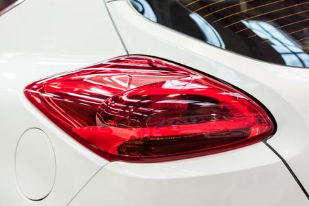 taillight: Car Taillight Closeup