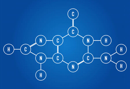 Chemical formula of citric acid blueprint royalty free cliparts chemical formula of dna component guanine vector malvernweather Choice Image