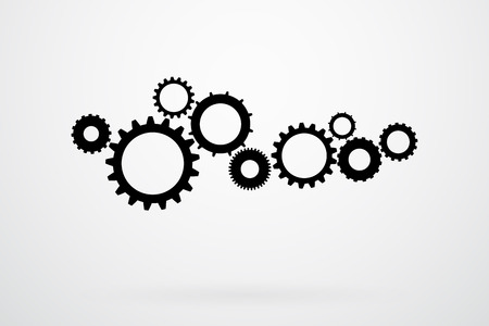 Cogs And Gears Icon Vector Illustration Vector