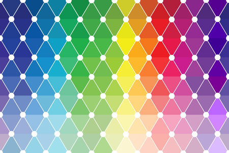 picker: Quincunx Abstract Colored Palette Guide