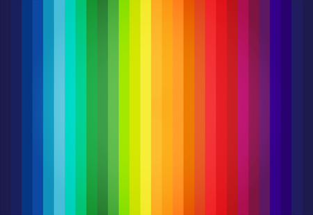 color charts: Abstract Colored Palette Guide Illustration