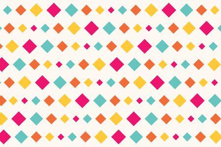 nostalgy: Retro Diamonds Seamless Abstract Pattern
