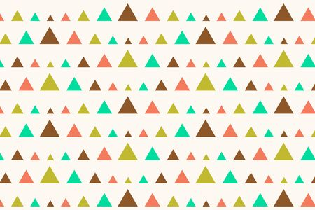 nostalgy: Retro Triangles Seamless Abstract Pattern Illustration