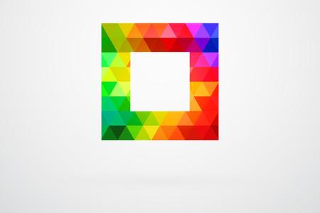 picker: Square Color Palette Guide Spectrum Vector