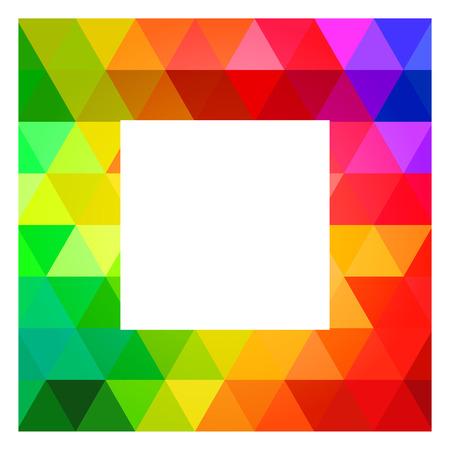 color guide: Square Color Palette Guide Spectrum Vector