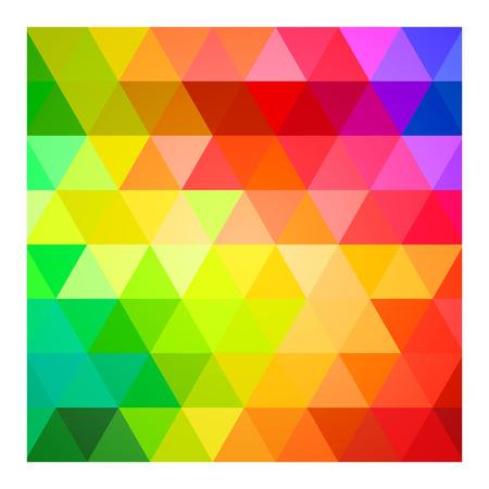 Vierkant Kleurenpalet gids Spectrum Vector