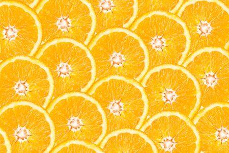 orange slice: Orange Slice Abstract Naadloze Patroon