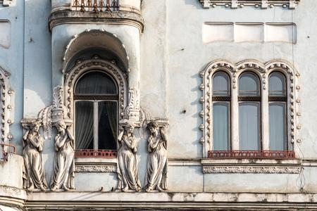 napoca: Vintage Architecture In Cluj Napoca, Romania Editorial
