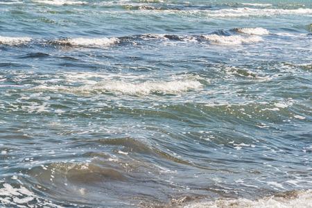 sea water: The Black Sea Water Waves