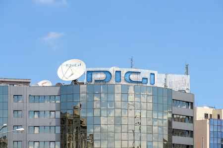 digi: BUCHAREST, ROMANIA - JULY 28, 2015: Founded in 2004 Digi TV is a Romanian DTH platform and belongs to the RCS  RDS the largest satellite and cable television company in Romania. Editorial