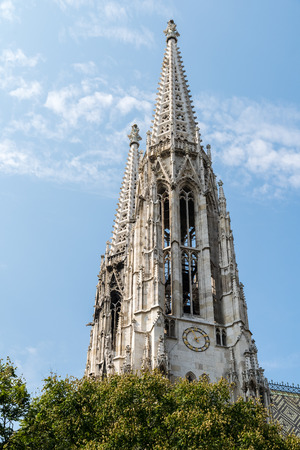 neo gothic: Built In 1879 The Votive Church Votivkirche is a neo-Gothic church located on the Ringstrasse in Vienna, Austria.