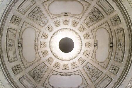 ceiling: Vintage Room Ceiling In Old Building