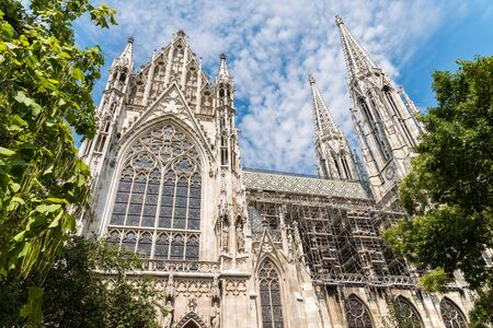neogothic: Built In 1879 The Votive Church Votivkirche is a neo-Gothic church located on the Ringstrasse in Vienna, Austria.