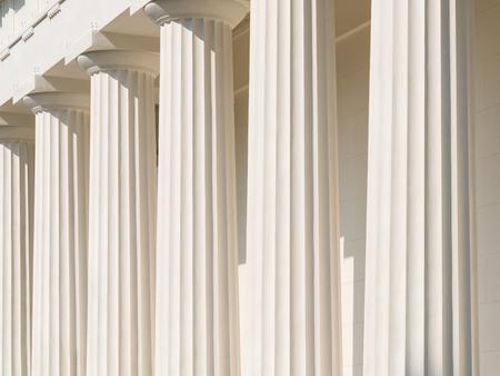 tempio greco: Doric Columns Of Ancient Greek Temple
