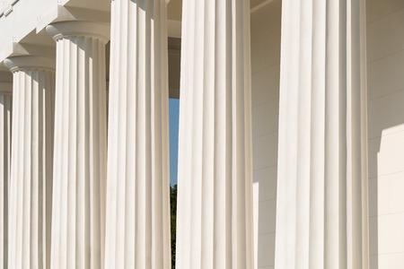 tempio greco: Colonne doriche Antico tempio greco