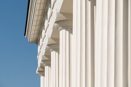 templo griego: Columnas dóricas del templo griego