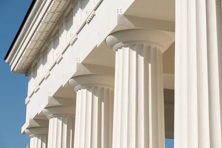 temple grec: Colonnes doriques temple grec