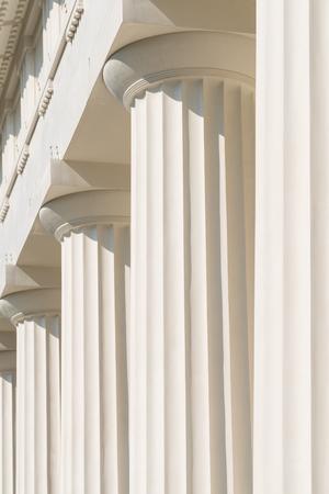 pilaster: Doric Columns Of Ancient Greek Temple
