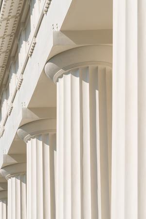 doric: Doric Columns Of Ancient Greek Temple