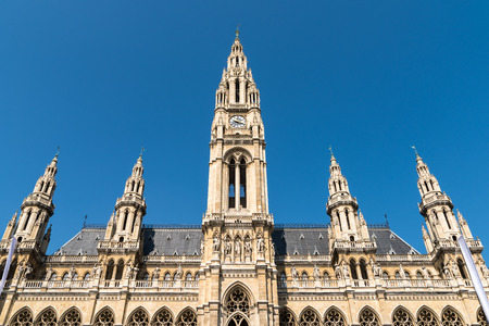 cityhall: Built In 1883 The Rathaus Town Hall is a building in Vienna which serves as the seat both of the mayor and city council of the city of Vienna.