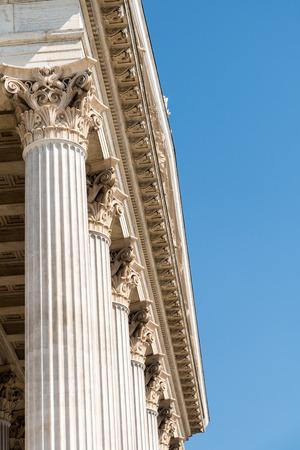 neoclassic: Composite Greek Style Columns Row