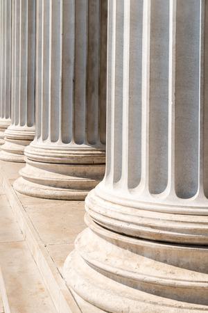 derecho romano: Compuesto estilo griego Columnas Fila