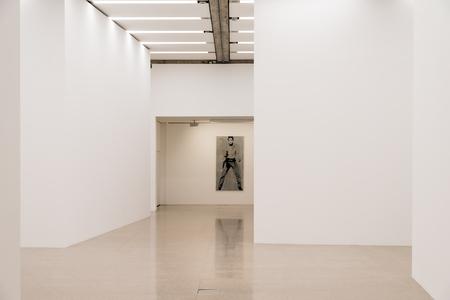 andy warhol: VIENNA, AUSTRIA - AUGUST 06, 2015: Elvis is a 1963 silkscreen painting by American pop artist Andy Warhol.