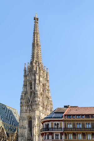 saint stephen cathedral: Saint Stephens Cathedral Stephansdom Of Vienna Built In 1147