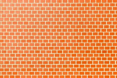 paredes de ladrillos: Muro de ladrillo rojo textura de fondo sin fisuras patrón
