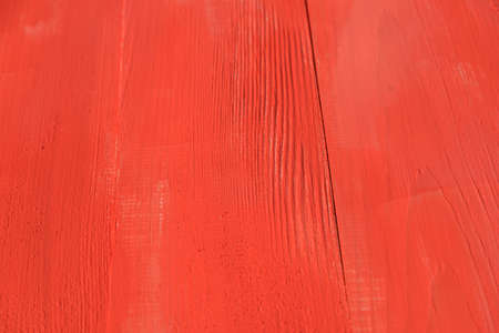 painted wood: Vintage Red Coral Wood Board Painted Background