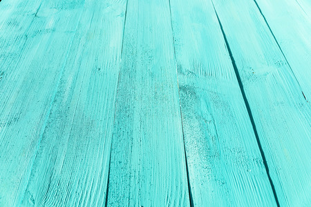 painted wood: Vintage Blue Turquoise Wood Board Painted Background