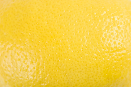 Yellow Lemon Peel Texture Macro