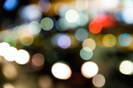 the traffic lights: City Traffic Lights Background With Blurred Lights