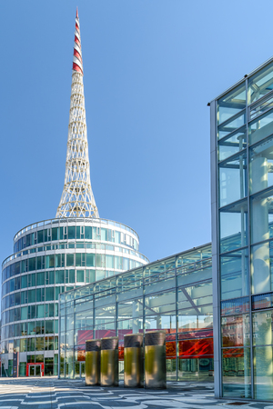 congress center: VIENNA, AUSTRIA - AUGUST 09, 2015: Messe Wien Or The Trade Fair Of Vienna Is The Biggest Trade Fair In Austria And One Of The Most Important Economic Factors Of Vienna City.