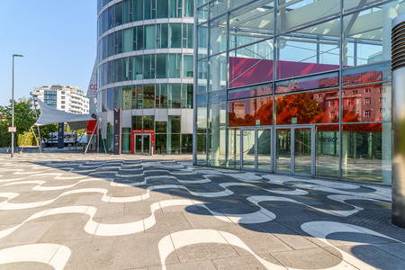 messe: VIENNA, AUSTRIA - AUGUST 09, 2015: Messe Wien Or The Trade Fair Of Vienna Is The Biggest Trade Fair In Austria And One Of The Most Important Economic Factors Of Vienna City.