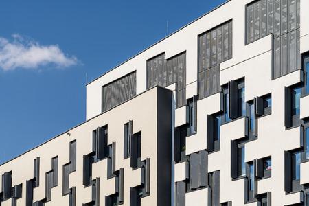 wien: VIENNA, AUSTRIA - AUGUST 09, 2015: Institute for Statistics and Mathematics of Vienna University of Economics and Business Wirtschaftsuniversitat Wien the largest University of business in Europe.