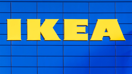 home accessories: VIENNA, AUSTRIA - AUGUST 11, 2015: IKEA Store is a Swedish company registered in the Netherlands that designs and sells ready-to-assemble furniture, appliances and home accessories.