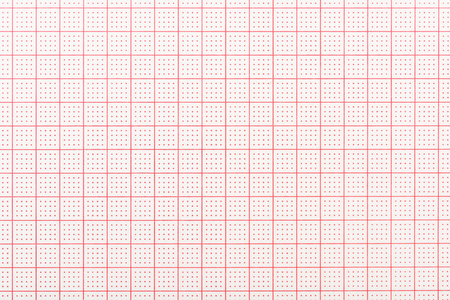 空白の心電図記録紙