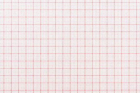 Blank Elektrokardiogramm Aufzeichnungspapier Standard-Bild - 54663002